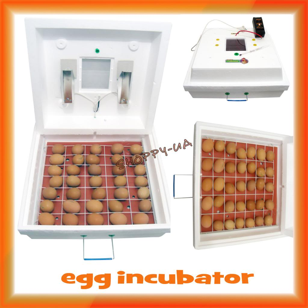 egg incubator for 70 eggs with mechanical turning new