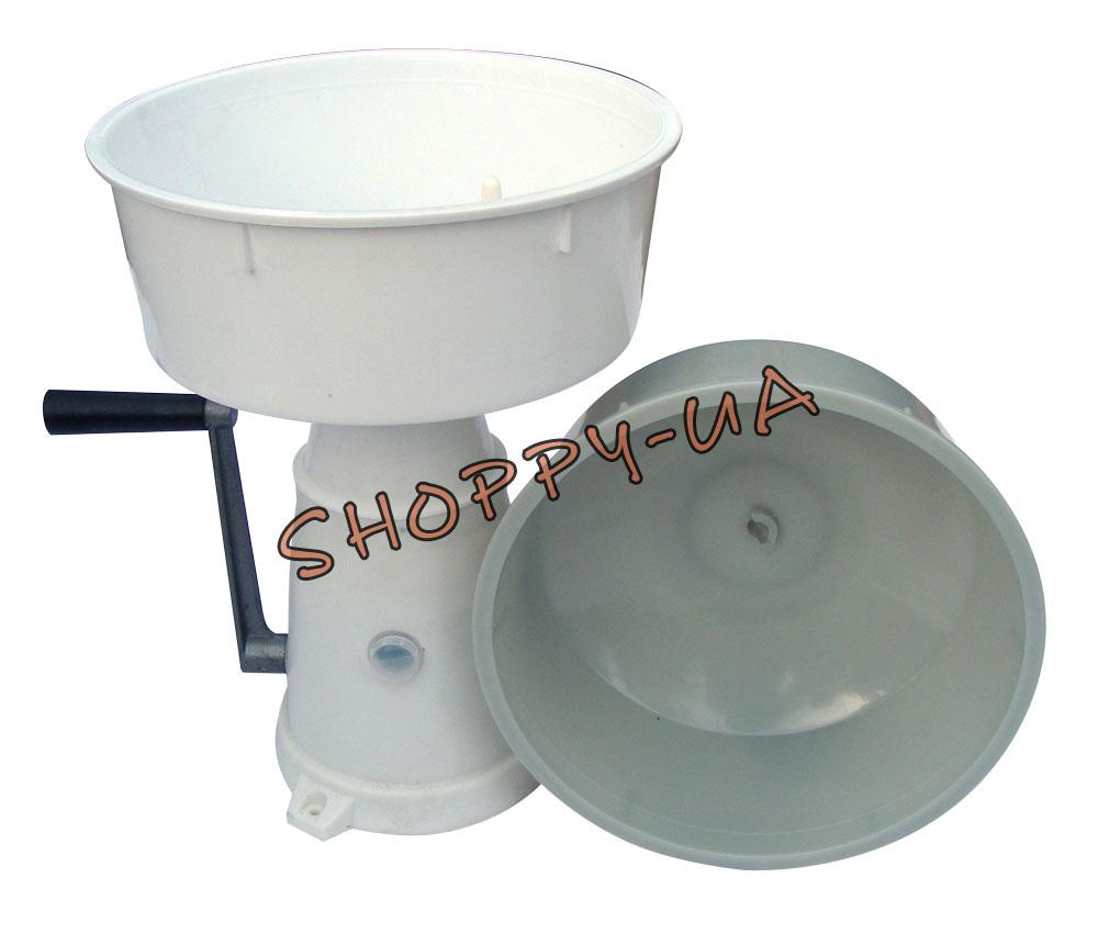 Fresh Milk Cream Manual Centrifugal Separator Metal Machine 10000 rpm 12L ❤