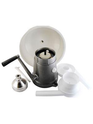 Молочний ручний сепаратор РЗ-ОПС з металевим корпусом (50 л/год)