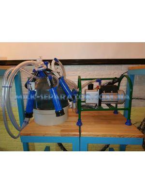 Доильный аппарат «Импульс Ротор» для 1-6 коров/доильные стаканы пластмасса, ведро поликарбонат
