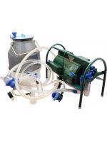 Доильный аппарат индивидуального доения Импульс ПБК-4 от 1-8 коз (ведро поликарбонат) 22 л